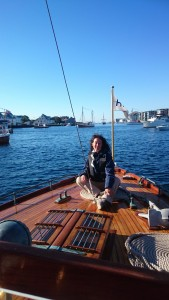 Sita under innseilingen til Haugesund